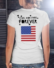 Stars and Stripes Forever - Design on Back Premium Fit Ladies Tee lifestyle-women-crewneck-back-3