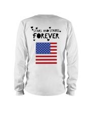 Stars and Stripes Forever - Design on Back Long Sleeve Tee thumbnail