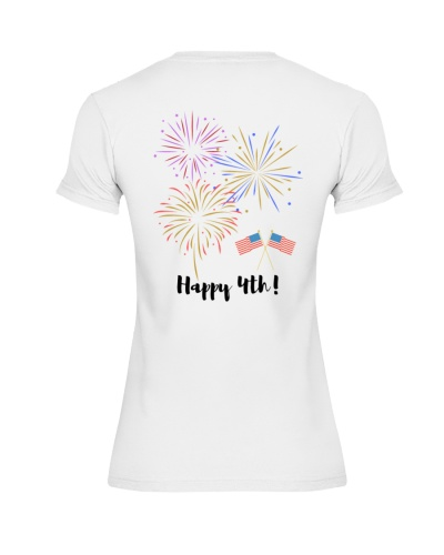 Happy 4th of July - Design on Back