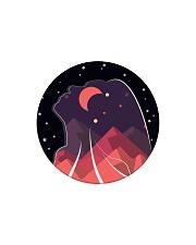 FreeWoman Art Work - black edition - Circle Magnet thumbnail