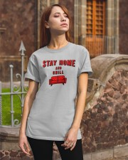 Stay Home and Chill Classic T-Shirt apparel-classic-tshirt-lifestyle-06