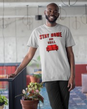 Stay Home and Chill Classic T-Shirt apparel-classic-tshirt-lifestyle-front-34