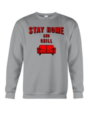 Stay Home and Chill Crewneck Sweatshirt thumbnail