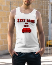 Stay Home and Chill Unisex Tank apparel-tshirt-unisex-sleeveless-lifestyle-front-01