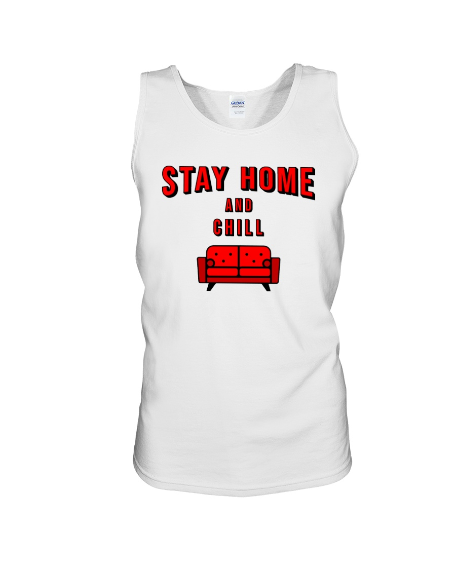Stay Home and Chill Unisex Tank