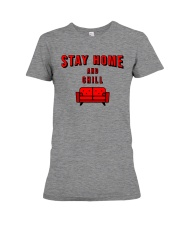 Stay Home and Chill Premium Fit Ladies Tee thumbnail