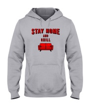 Stay Home and Chill Hooded Sweatshirt thumbnail
