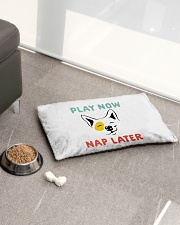 Play Now Nap Later Pet Bed - Small aos-pet-bed-small-lifestyle-front-01