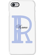 Elegant R Phone Case tile