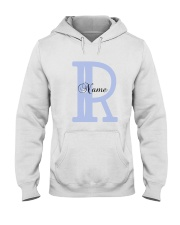Elegant R Hooded Sweatshirt thumbnail