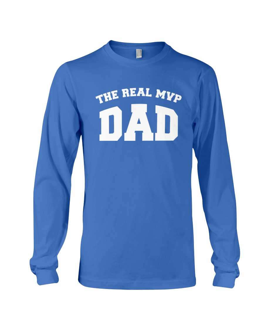 The Real MVP - Dad Long Sleeve Tee