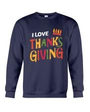 I love Thanksgiving Crewneck Sweatshirt thumbnail