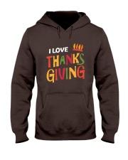 I love Thanksgiving Hooded Sweatshirt thumbnail