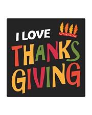 I love Thanksgiving Square Coaster thumbnail