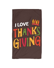 I love Thanksgiving Hand Towel front