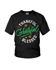 Thankful Grateful  Blessed Youth T-Shirt thumbnail