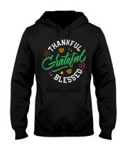 Thankful Grateful  Blessed Hooded Sweatshirt thumbnail