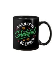 Thankful Grateful  Blessed Mug thumbnail