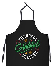 Thankful Grateful  Blessed Apron thumbnail