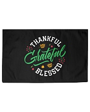 Thankful Grateful  Blessed Woven Rug - 3' x 2' thumbnail