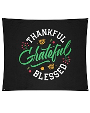 "Thankful Grateful  Blessed Wall Tapestry - 60"" x 51"" thumbnail"