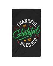 Thankful Grateful  Blessed Hand Towel thumbnail