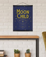 Moon Child 16x20 Black Hanging Canvas aos-hanging-canvas-16x20-lifestyle-front-03