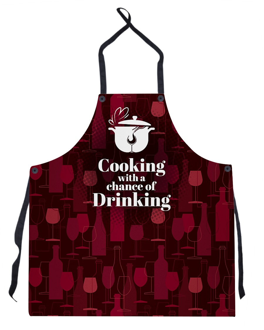 Cooking With a Chance of Drinking Apron