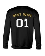 Best Wife Crewneck Sweatshirt back
