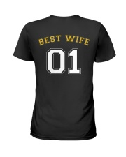 Best Wife Ladies T-Shirt back