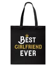 Best Girlfriend Ever Tote Bag thumbnail