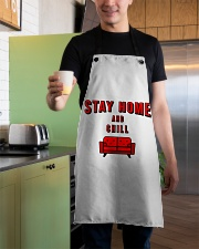 Stay Home and Chill Apron aos-apron-27x30-lifestyle-front-04