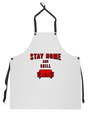Stay Home and Chill Apron front