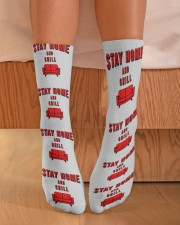 Stay Home and Chill Crew Length Socks aos-accessory-crew-length-socks-lifestyle-front-02