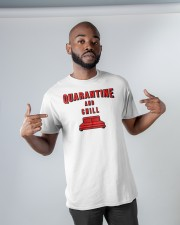 Quarantine and Chill Classic T-Shirt apparel-classic-tshirt-lifestyle-front-32