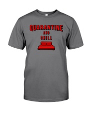 Quarantine and Chill Premium Fit Mens Tee tile