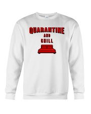 Quarantine and Chill Crewneck Sweatshirt thumbnail