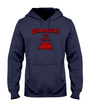 Quarantine and Chill Hooded Sweatshirt tile