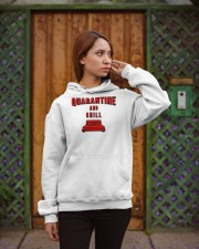 Quarantine and Chill Hooded Sweatshirt apparel-hooded-sweatshirt-lifestyle-02