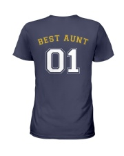 Best Aunt Ladies T-Shirt back