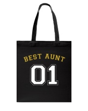 Best Aunt Tote Bag tile