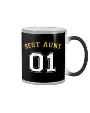 Best Aunt Color Changing Mug tile