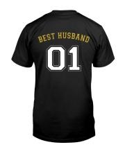Best Husband Classic T-Shirt back