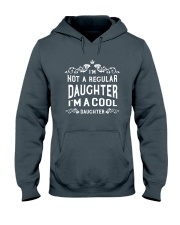I'm a Cool Daughter Hooded Sweatshirt front
