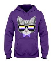 Non-Binary Cat Hooded Sweatshirt thumbnail