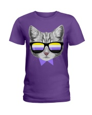 Non-Binary Cat Ladies T-Shirt thumbnail