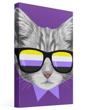 Non-Binary Cat 16x24 Gallery Wrapped Canvas Prints thumbnail