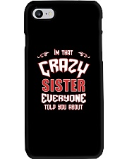 I'm That Crazy Sister Phone Case thumbnail