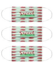 Sweet Summer Cloth Face Mask - 3 Pack thumbnail