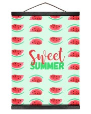 Sweet Summer 12x16 Black Hanging Canvas thumbnail